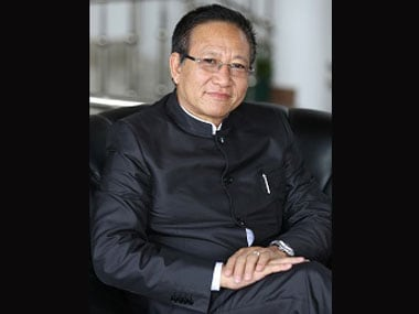 File image of TR Zeliang. http://www.nagaland.gov.in/