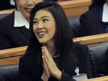 Thailand files criminal charges against former PM Yingluck Shinawatra