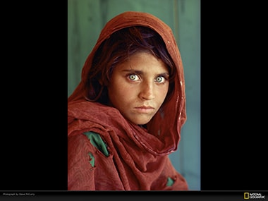 Remember that green-eyed girl? National Geographics Mona Lisa now an illegal in Pakistan