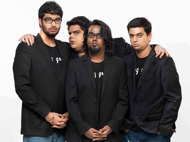 The All india Bakchod team
