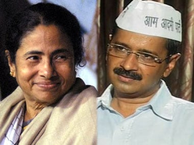 Mamata Banerjee meets Arvind Kejriwal in Delhi, discuss political situation