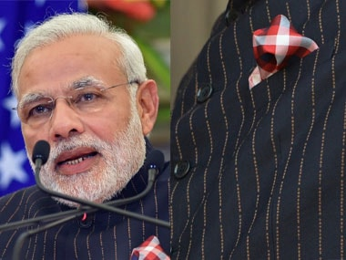 Prime Minister Narendra Modi's suit was sold for a whopping 4.31 cr today.