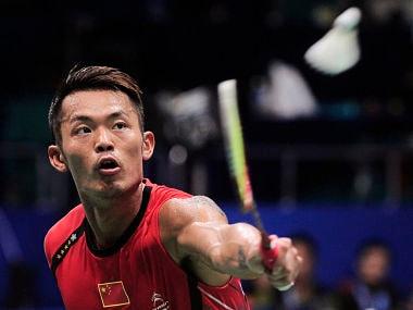 China's Lin Dan. Reuters