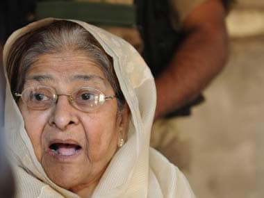 File photoof Zakia Jafri. AFP
