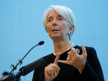 File image of IMF chief Christine Lagarde. Reuters