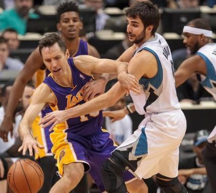 NBA Los Angeles Lakers at Minnesota Timberwolves