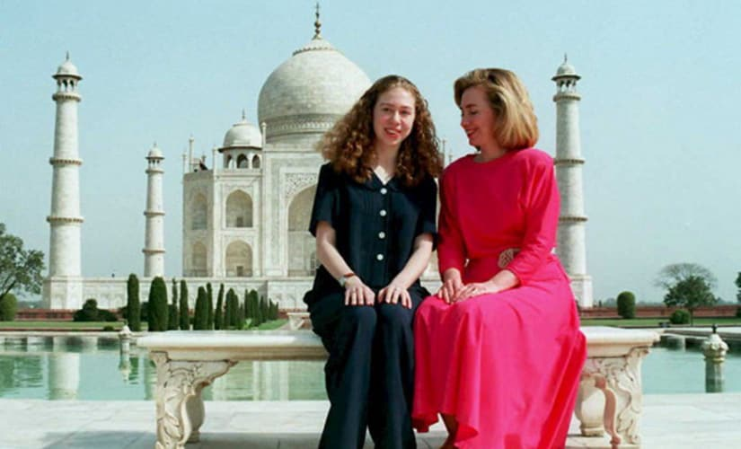 Hillary hearts India: The woman who would be US President