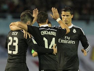 La Liga: Hernandez continues scoring form as Real beat Celta Vigo 4-2