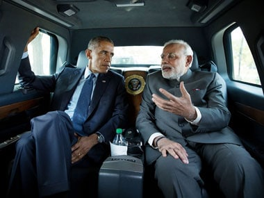File photo of US President Barack Obama and Prime Minister Narendra Modi. Image courtesy: The White House