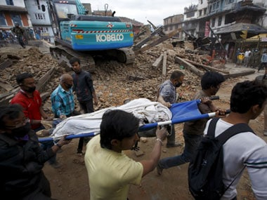 Live: Nepal earthquake death toll touches 7,365; 100 bodies found at a village