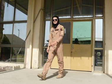 Defying Taliban, threats and dogma: Afghanistans first female pilot is a true Top Gun