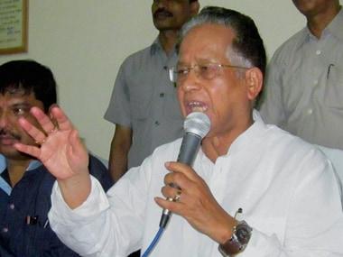 File image of former Assam chief minister Tarun Gogoi. PTI