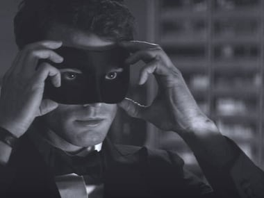 First look of Fifty Shades Darker: Jamie Dornan hides behind mask, looks bored