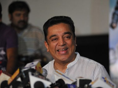 Kamal Hassan in a file photo. AFP