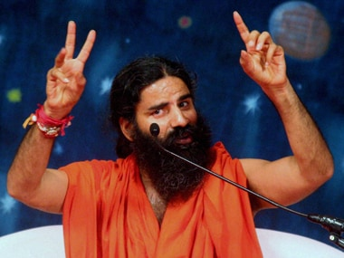 Baba Ramdev in a file photo. PTI