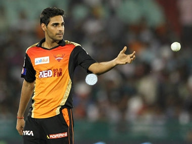 IPL 2018: Bhuvneshwar Kumar to miss game against Mumbai Indians due to back injury, informs Kane Williamson
