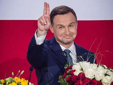 File image of Polish president. AFP