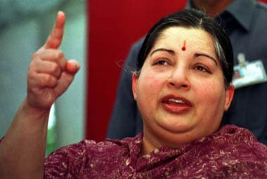 AIADMK leader and Chief Minister Jayalalithaa