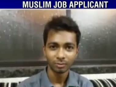 Muslim graduate who was denied job rejects 12 offers, says he wants to be selected on merit