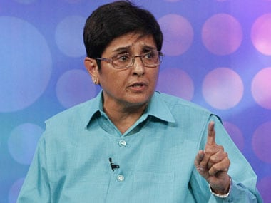 Lieutenant Governor of Puducherry Kiran Bedi stopped two-wheelers on a busy road in the Union Territory on Sunday and asked bikers to wear helmets. Reuters