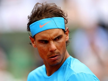 File picture of Rafael Nadal. Getty