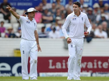 Andrew Strauss (L) and Pietersen shared a frosty relationship under former's captaincy. Getty Images
