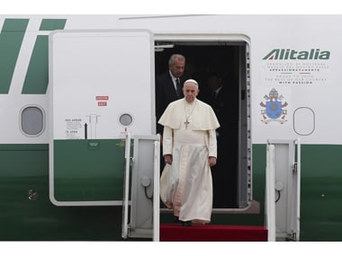Pope Francis. REUTERS