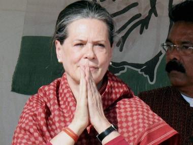 File image of Congress president Sonia Gandhi. PTI