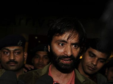 File image of Yasin Malik. AFP