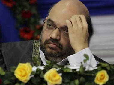 File photo of Amit Shah. AP
