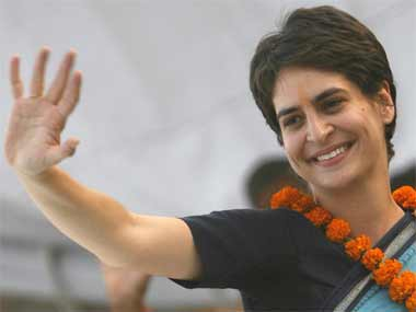 Congress leader Priyanka Gandhi. Reuters