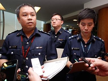 Police women upskirt