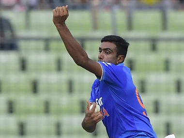 File picture of Ravichandran Ashwin. AFP
