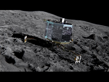 Its alive: Philae spacecraft that landed on comet finally wakes up after seven months
