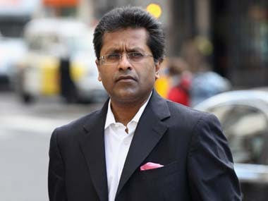 Lalit Modi in a file photo. Getty Images