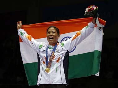 File photo of Mary Kom from the Asian Games. Reuters