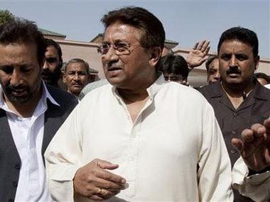 Former Pakistan president Pervez Musharraf. AP