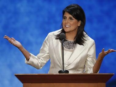 South Carolina Governor Nikki Haley. Reuters