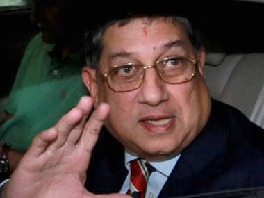 Former BCCI president N Srinivsan attacks cricket board's administration and CoA, says 'everything is in disarray'