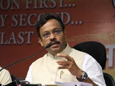 File image of Maharashtra education minister Vinod Tawre. PTI