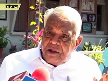 Vyapam scam: No need for CBI probe, deaths of 25 accused natural, says Babulal Gaur