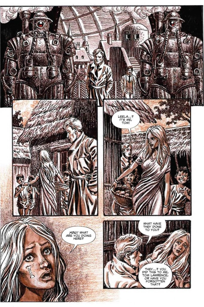 Excerpt from graphic novel Empire of Blood: What if the sun had not set on the British Empire?