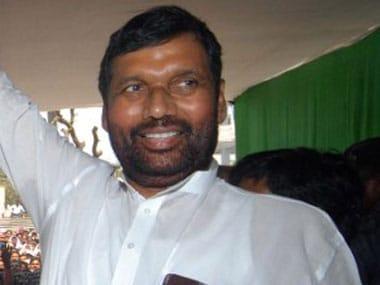 Grand Alliance Government Will Not Last Long Says Ram Vilas Paswan World News Firstpost