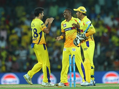 File picture of Chennai Super Kings cricketers. BCCI