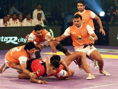 Pro Kabaddi League: Dabang Delhi edge past Pune to go fifth