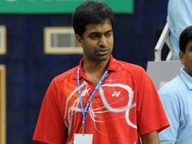 File image of Gopichand. AFP