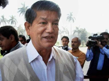 Uttarakhand CM Harish Rawat. PTI