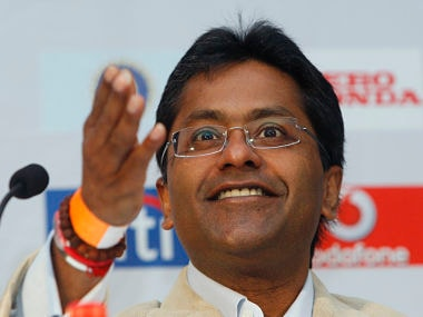 File picture of Lalit Modi. Reuters