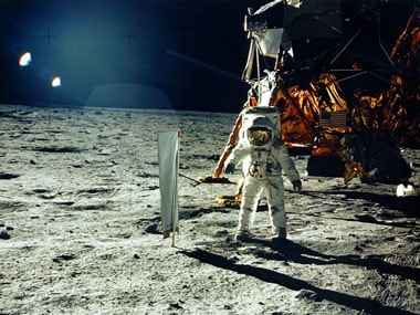 'Get a new brain': Famed physicist Cox, Buzz Aldrin respond to moon landing conspiracy theorists