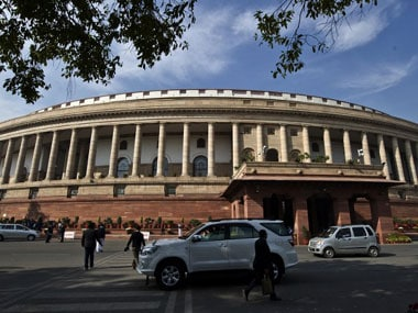 The Indian Parliament. AFP